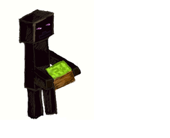 MiniEndermen creeper and incarcerated in cube land by MareaiVasco