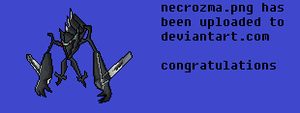 Necrozma Sprite (Pokemon Showdown Donation)