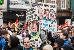 CAHWT Protest Dame Street, Dublin by suolasPhotography