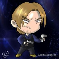 Just A Leon Chibi for old times sake by DavidUnwin