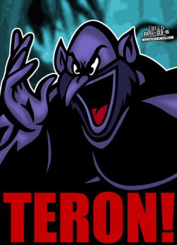 Cartoon Villains -080- Teron from Mighty Hercules! by CreedStonegate