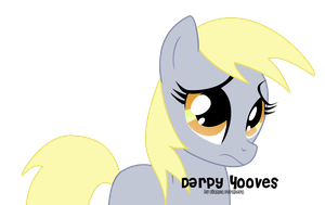 Sad Derpy by oOBrushstrokeOo