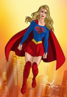 SUPERGIRL by FERNL