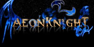 AK banner or signature by AeonKnightxTidus