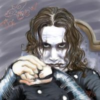 Eric Draven by ickle-weirdo
