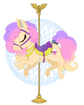 Carousel Pony Commission: Ash by gummysharkcircus