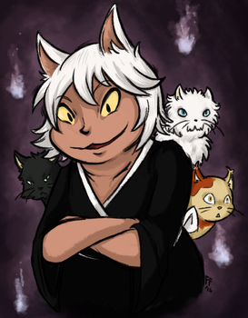 Bakeneko and the Boys by treetune