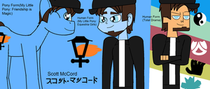 CC - 3 Forms of Scott McCord by Britishgirl2012