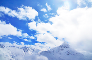 On the Edge to Heaven ~ the Alps by ladykatniss
