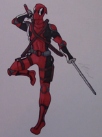 Deadpool Fanart by AnthonyParenti