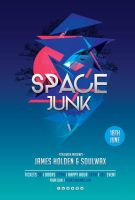 Space Junk Flyer by styleWish