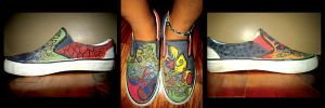 Painted Sneakers by conradjavier