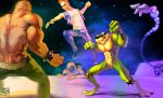 Battletoads_and_DD FirstLevel by RoggerTheRabbit