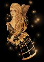 Golden Butterfly by Rin54321