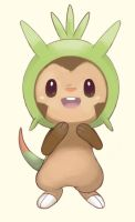 Chespin Sketch by staticwind