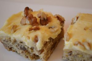 Frosted Banana Nut Bars by Lily-Gangsta