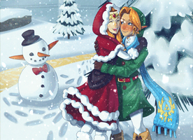 Holiday in Hyrule by theskywaker