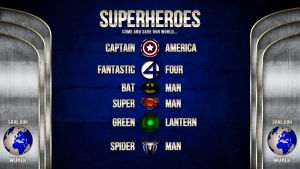 Superheroes - Save Our World by Wybi