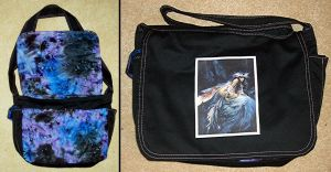 Froud Fairy Messenger Bag by Groovygirlsuzy17