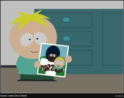 Butters meets Devin Hester by StephKai