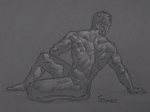 Figure Drawing #92 by AngelGanev