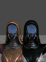 Better Faces, Environments and Specular Maps by anorexianevrosa