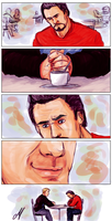 Suddenly... a date (Steve/Tony) by Scarlett-pants