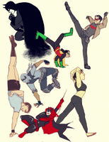 DC - some hopping around and stuff by Sherru