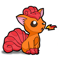 Vulpix by 0GamerEevee0