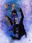 Noob Saibot vs Sub-Zero 2 by Grace-Zed