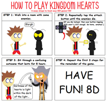 How To Play Kingdom Hearts by ToastersToastToast