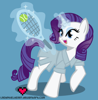 Tennis Rarity by ladypixelheart