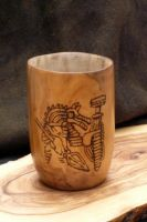 Wolfhetan Mead Cup by Meredyth