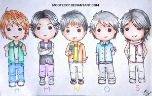 AMNOS chibi by Mootecky