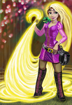 Crime Fighting Hair by MallorySmallory