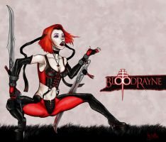 BloodRayne by NickLitvinov by NickLitvinov