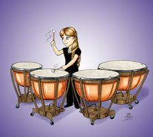 Timpani Commission by KaizokuShojo