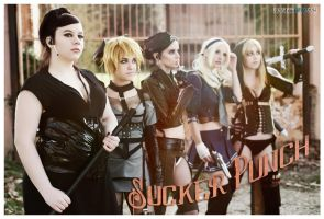 Sucker Punch cosplay by ThelemaTherion