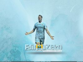 Edin Dzeko - Wallpaper by cmete