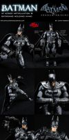 Custom Arkham Origins Batman Figure by MintConditionStudios