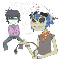 Happy Birthday Stu-Pot by GoRiLlAz6666