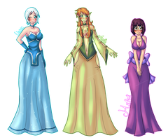 .: Ladies in Dresses [3/6] :. by Mayuuko
