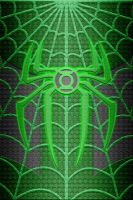Green Lantern Spiderman Suit Wallpaper test 1 by KalEl7