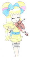 Playing violin by macaustar