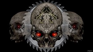 PsyGear Skull v3 by KnightFlyte96