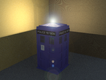 The Tardis with Light by EmeraldTokyo