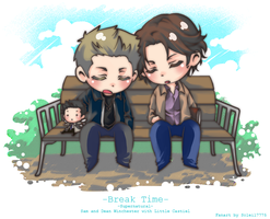 SPN : Break Time by soleil7775