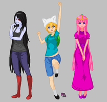ADVENTURE TIME by ReinaSasuke