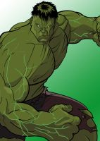 The Incredible Hulk by BrentJago