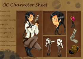 Gil S. .:Character Sheet:. by Tennessee11741
